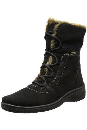 Women Snow Boots - ARA Womens München-St-Gor-Tex Snow Boots Schwarz (schwarz