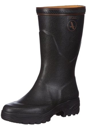 Women Boots - Aigle Parcours 2, Men's Hunting Shoes - (Noir 9)