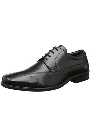 Men Flat Shoes - Josef Seibel Westland by Men's Chris 01 Lace-Up Flats Schwarz (schwarz 600) Size: 43 EU (9 Herren UK)