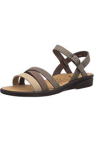 Womens SONNICA, Weite E Open Sandals Black Size: 6 Ganter