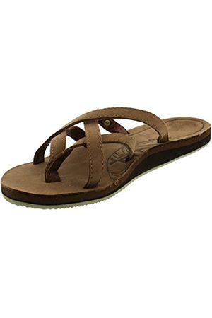 7ca464344558f5 Women Flip Flops - Teva Olowahu flip flops Ladies Leather flip flops (bison  561)