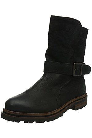 Women Cowboy & Biker Boots - Hudson Tatham Calf, Women Biker Boots