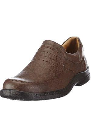Men Brogues & Loafers - Jomos Mens Feetback Casual Braun (capucino) Size: 11 (45 EU)