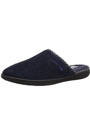 Men Slippers - Padders Mens Luke Slippers 471/24 Navy 8 UK