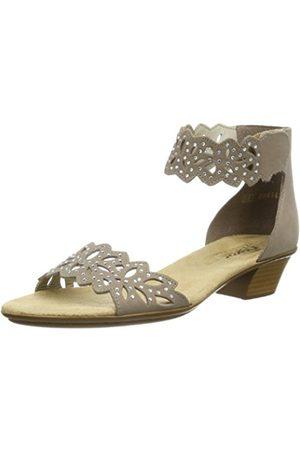 Women Sandals - Rieker 68396, Women's Wedge Heels Sandals