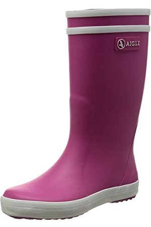 Wellingtons - Aigle Lolly Pop, Unisex Kids' Without Lining Mid-Calf Boots