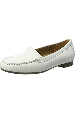 Women Brogues & Loafers - Sioux Womens Zilly Moccasins Weiß (weiss) Size: 38.5