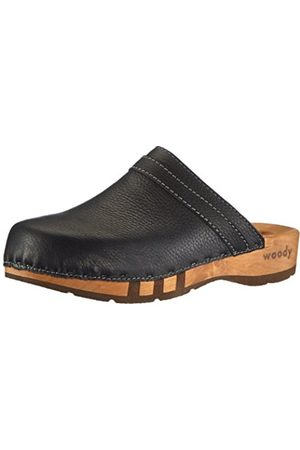 Men Clogs - Mens HARRY Clogs And Mules Schwarz (Galia schwarz) Size: 48