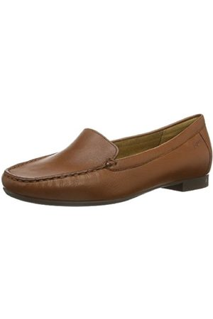 Women Brogues & Loafers - Sioux Womens Zilly Moccasins Braun (cognac) Size: 5