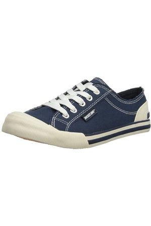 Women Trainers - Rocket Dog Women's Jazzin Canvas Low-Top trainers - (8A Canvas Navy)