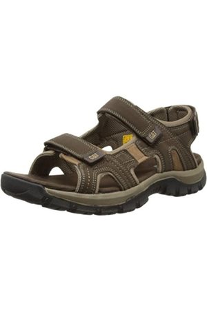 Caterpillar Cat Giles Open Toe Sandals, Mens Dark