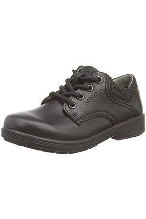 Boys School Shoes - Ricosta Harry Wide Fit, Boys' Derby, (Schwarz 090)