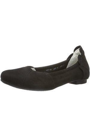 Womens Balla Ballet Flats, Black (Black 00), 7 UK Think