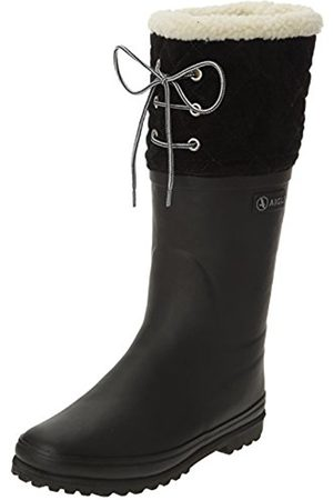 Women Boots - Aigle Women's Polka Giboulee Hunting Boots - 4 UK