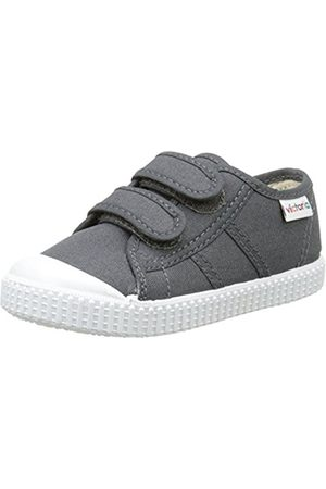 Trainers - victoria Unisex Kids' Basket Lona Dos Velcros Low-Top Sneakers Size: 8.5 Child UK