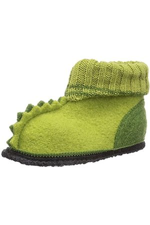 Boys Slippers - Boys' Nessi Slippers Grün (09)