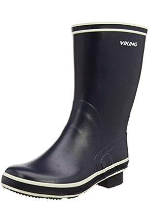 Boots - Viking Unisex Adults' FJORD Unlined Rubber Boots Half Shaft Boots & Bootees Size: 13