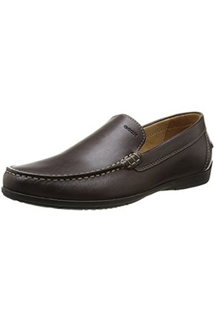 Men Brogues & Loafers - Geox Simon A, Men's Mocassin, (Coffee)