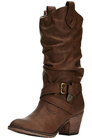 Rocket Dog Boots Womens Black Black Sidestep Ii Pure Wool