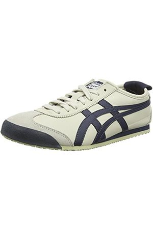 Trainers - Onitsuka Tiger Onistuka Tiger Mexico 66, Unisex Adults' Low-Top Sneakers, (Birch/India Ink/Latte - 1659)