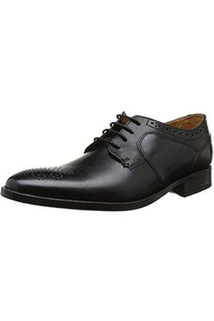 Men Brogues & Loafers - Clarks Men's Kalden Edge Lace-Up Flats