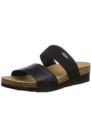Women Sandals - Giesswein Womens Viterbo Mules Schwarz (schwarz / 022) Size: 4