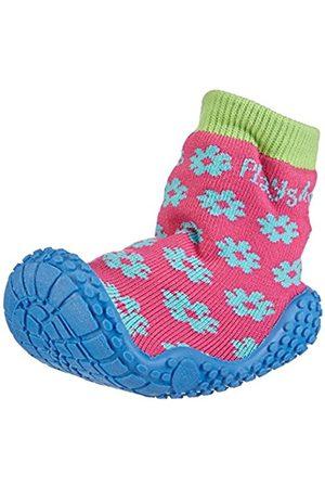 Sandals - Playshoes GmbH Uv Protection Aqua Socks Flower, Unisex-Child Sandals