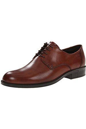 Men Formal Shoes - Ecco Harold, Men's Derbys, (COGNAC01053)