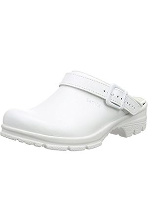 Unisex Adults San-Duty Open-Ob Clogs, White (White) Sanita