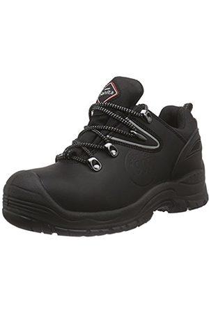 Unisex Adults San-Safe Amazon Lace Safety Shoes, Black (Black 2) Sanita