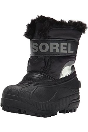 Snow Boots - sorel Toddler Snow Commander, Unisex Kids Snow Boots, ( /Charcoal 010)
