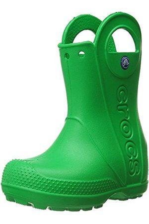 Boots - Crocs Handle It Unisex-Child Rain Boots - Grass