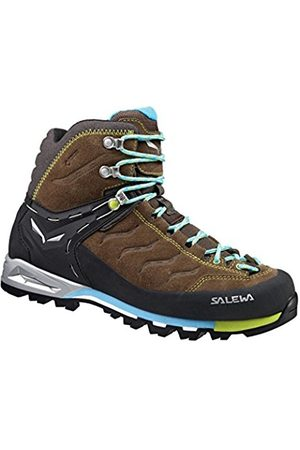 Salewa WS MTN Trainer Hiking Shoes - 36 1/2 - Brown - Women Good Selling 453xzFA