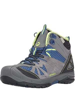 Boys Outdoor Shoes - Merrell Capra Mid Waterproof, Boy's Lace-Up High Rise Hiking Shoes - /