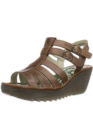 Women Sandals - Fly London Ygor, Women's Wedge Heel Sandals