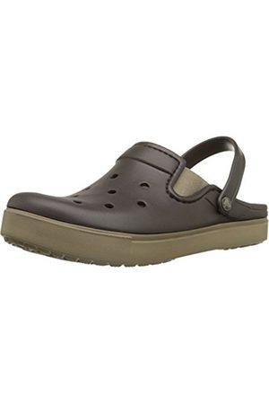 Clogs - Crocs Unisex Adults' Citilane Clogs, (Espresso/Khaki 22Y)