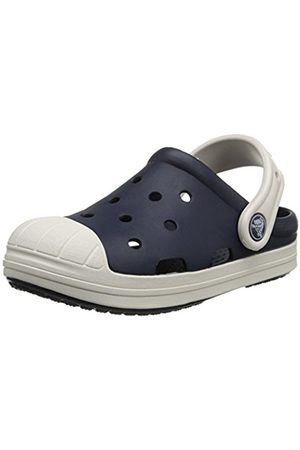 Clogs - Crocs Bumper Toe Unisex-Kids' Clogs - Navy/Oyster
