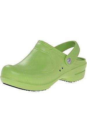 Sanita Women's's Aero-Stride Clogs (Lime 41) 6 UK