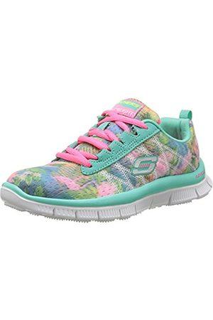 Girls Trainers - Skechers Skech Appeal - Floral Bloom, Girls' Multisport Outdoor Shoes, Green (aqua)