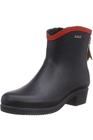 Women Snow Boots - Aigle Women's Miss Juliette Bottillon Fur Gummistiefel Boots