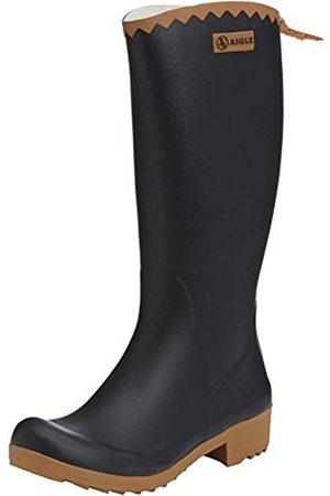 Women High Leg Boots - Aigle Victorine Gummistiefel, Women's Unlined Rubber Boots Long Shaft Boots & Bootees