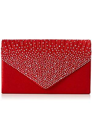 Swankyswans Womens Abby Diamante Envelope Style Bag Clutch ce68545597ec5