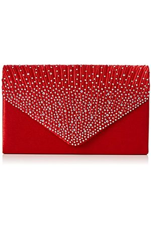 Womens Abby Diamante Envelope Style Bag Clutch Swankyswans