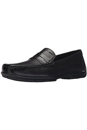 Men Brogues & Loafers - Geox U Monet W 2Fit B, Men's Mocassins, (Blackc9999)