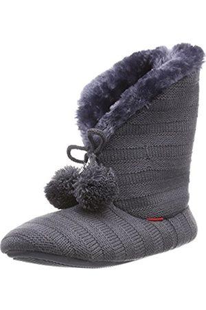 Women Flip Flops - flip*flop Women's cottage mate Slippers Gray Grau (017) 3.5