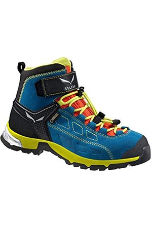 Boys Shoes - Salewa JR ALP PLAYER MID GTX Hiking shoes - 32 - White - Children