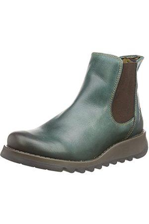 Women Boots - Fly London Salv, Women's Boots, (Petrol 006)