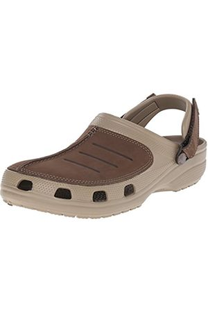Men Clogs - Crocs Yukon Mesa Men's Clogs - Khaki/Espresso