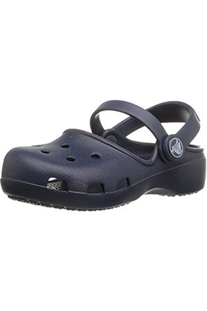 Girls Clogs - Crocs Karin Girls' Clogs - Navy