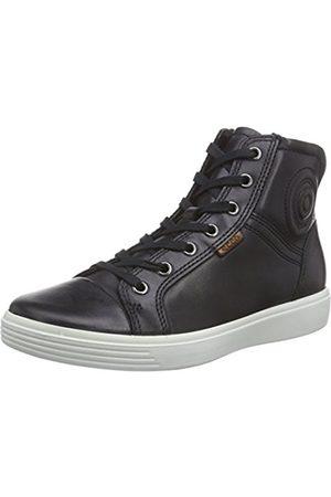 Trainers - Ecco S7 TEEN, Unisex Kids' Hi-Top Sneakers, (2001black)